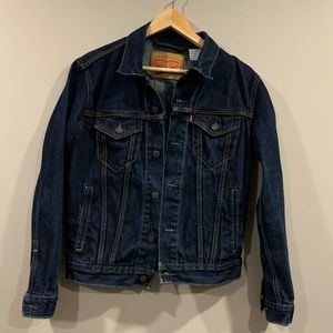 Vtg Levi's Jean Jacket - Dark Denim Blue